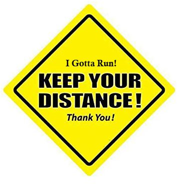 Keep Your Distance - Virtual Race logo